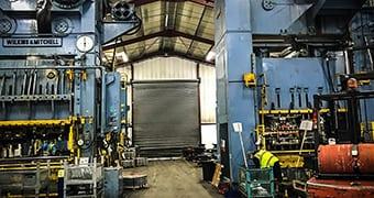 400 tonne presses